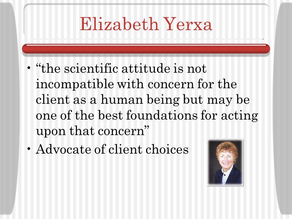 Elizabeth Yerxa