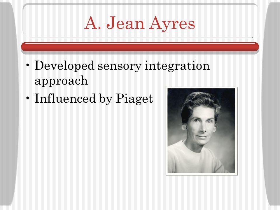 A. Jean Ayres Developed sensory integration approach