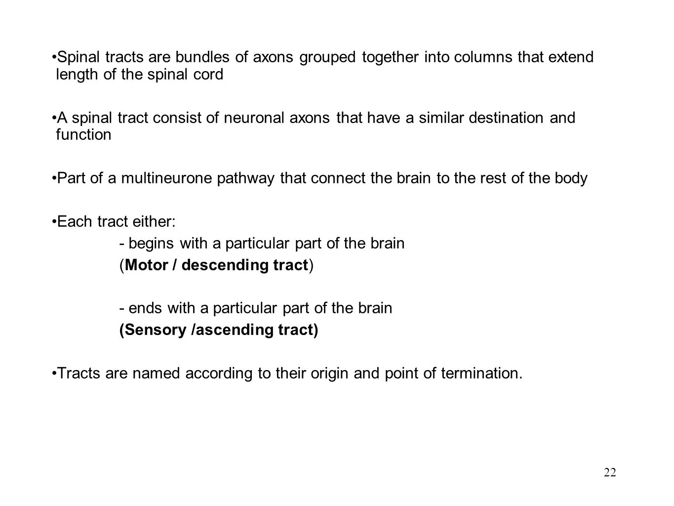 - begins with a particular part of the brain