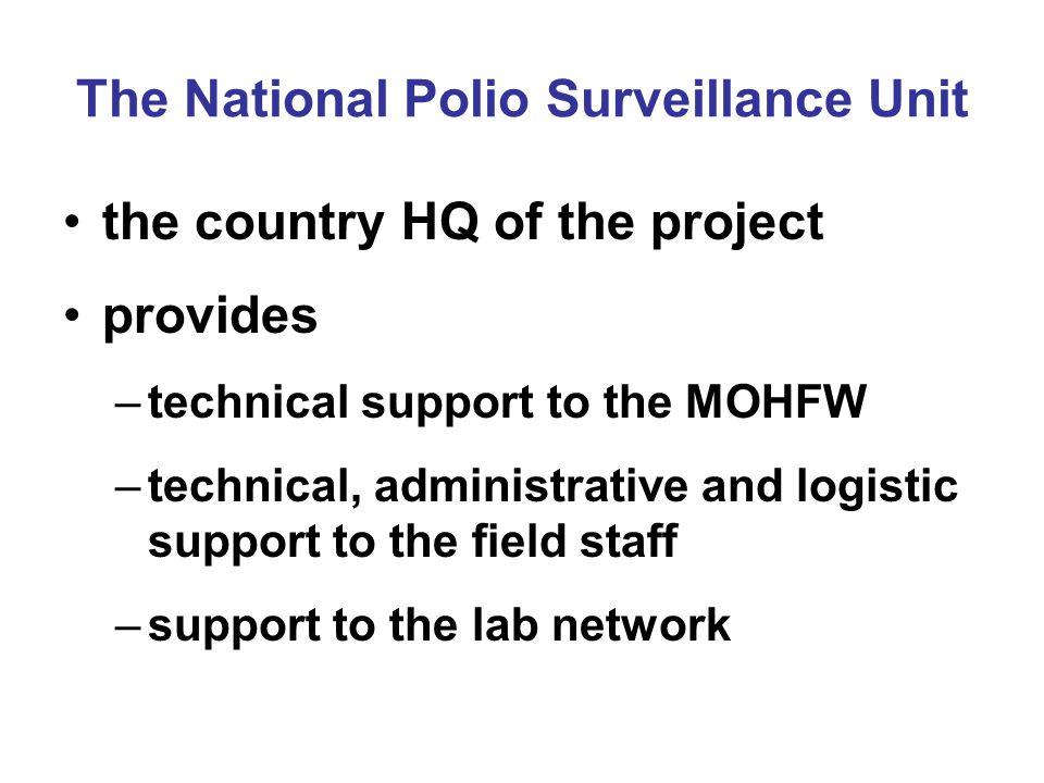 The National Polio Surveillance Unit