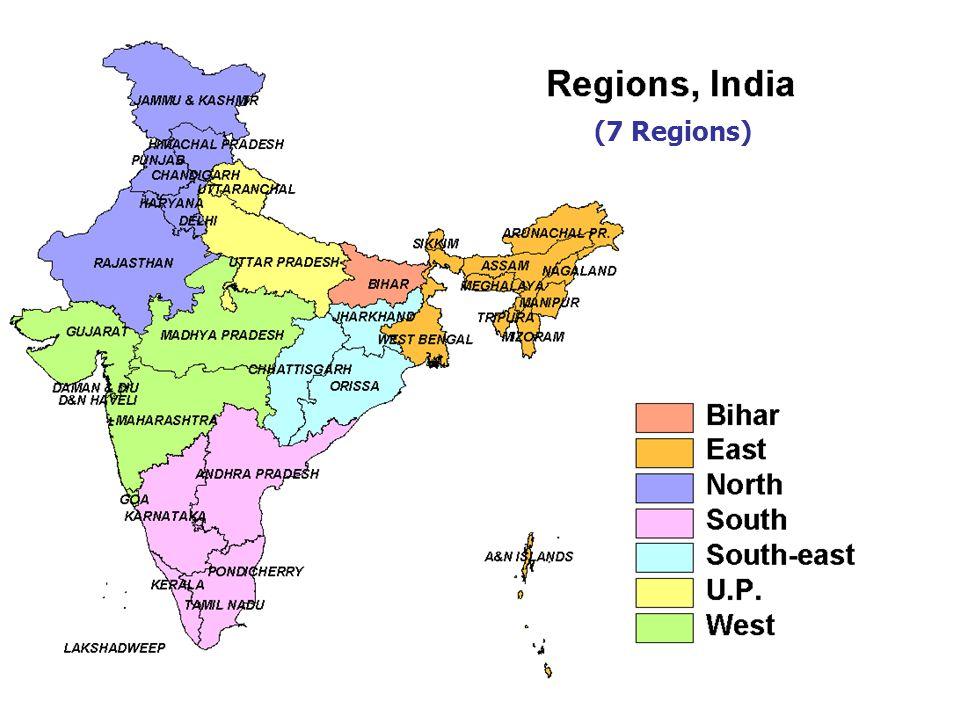 (7 Regions)
