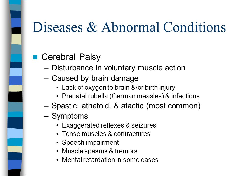 Diseases & Abnormal Conditions