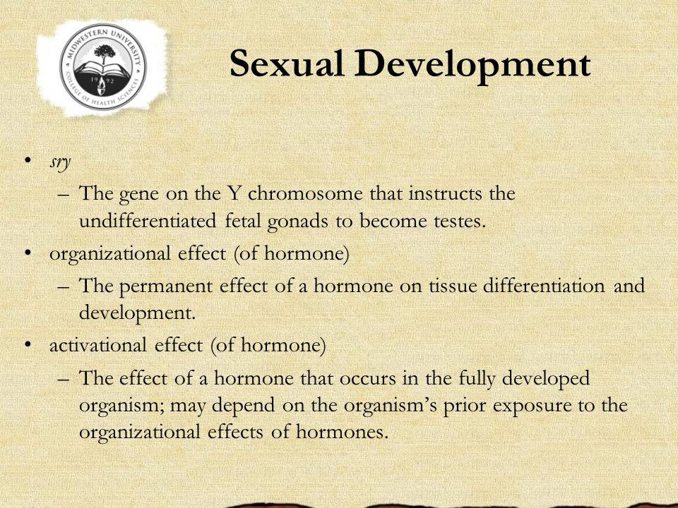 Sexual Development sry