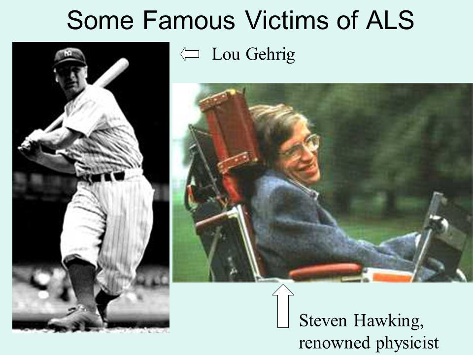 Some Famous Victims of ALS