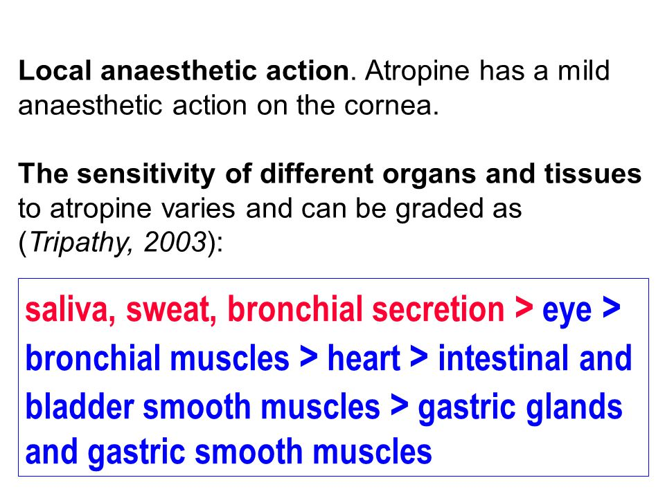 saliva, sweat, bronchial secretion > eye >