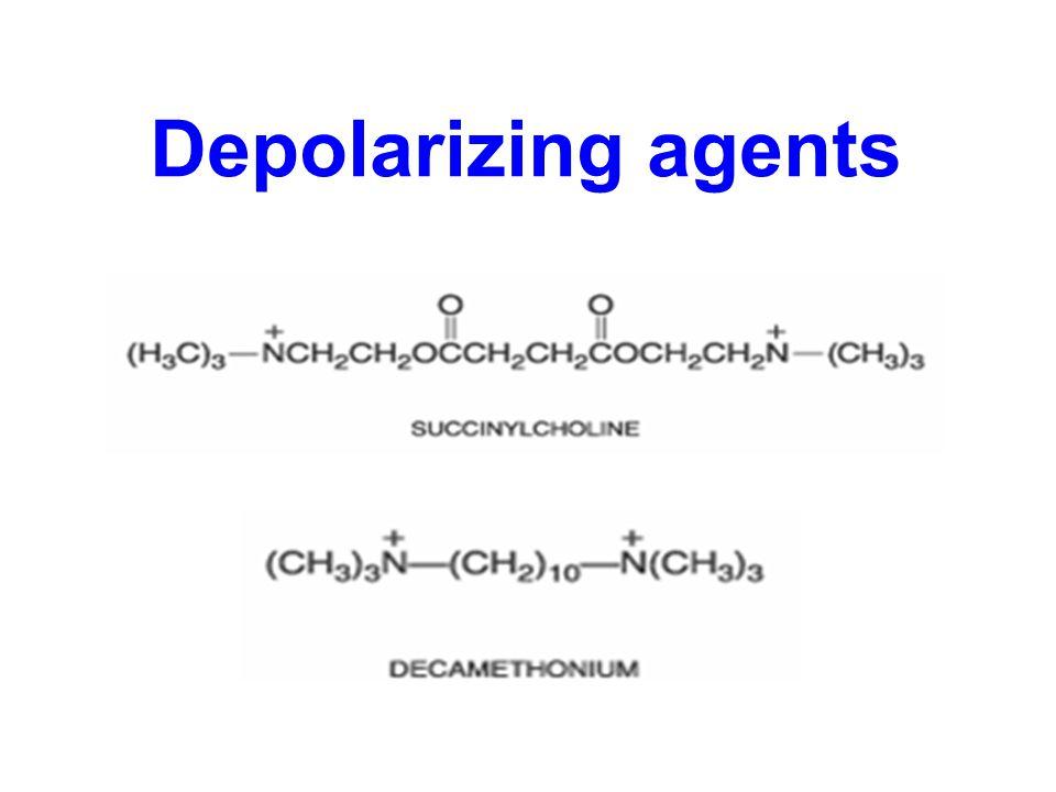 Depolarizing agents