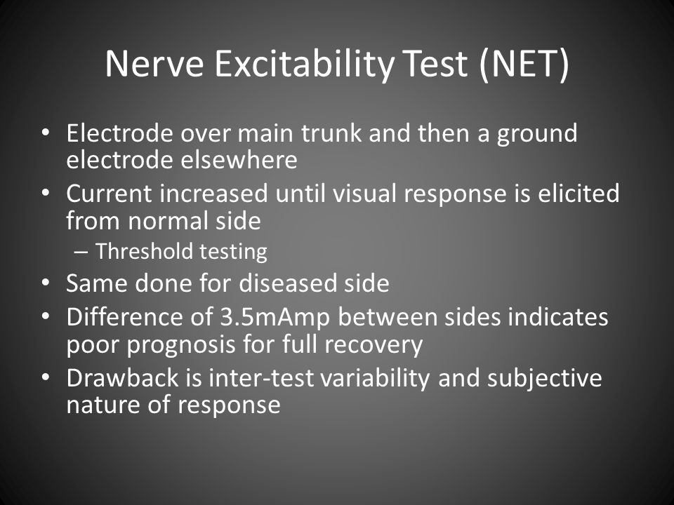 Nerve Excitability Test (NET)