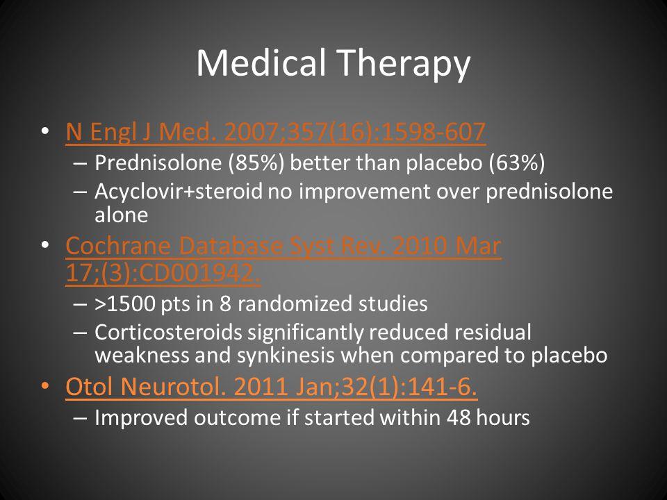 Medical Therapy N Engl J Med. 2007;357(16):1598-607