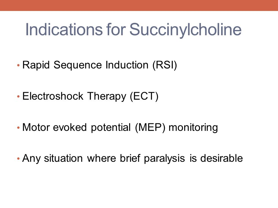 Pseudocholinesterase deficiency ppt video online download for Motor evoked potential monitoring