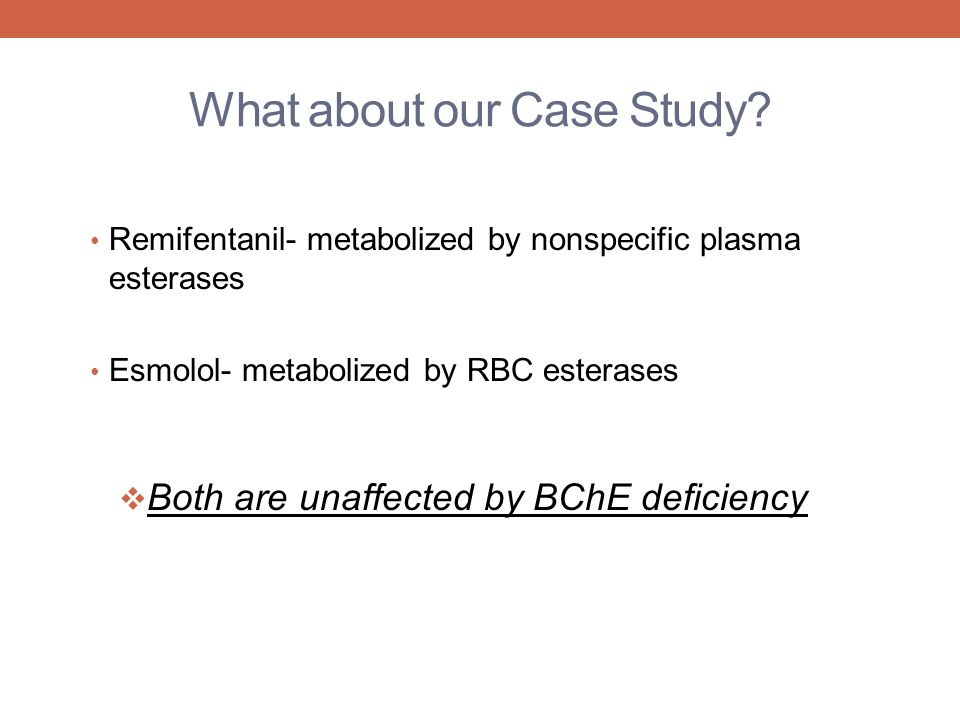 What about our Case Study