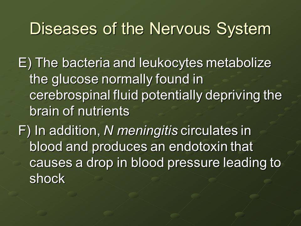 Diseases of the Nervous System