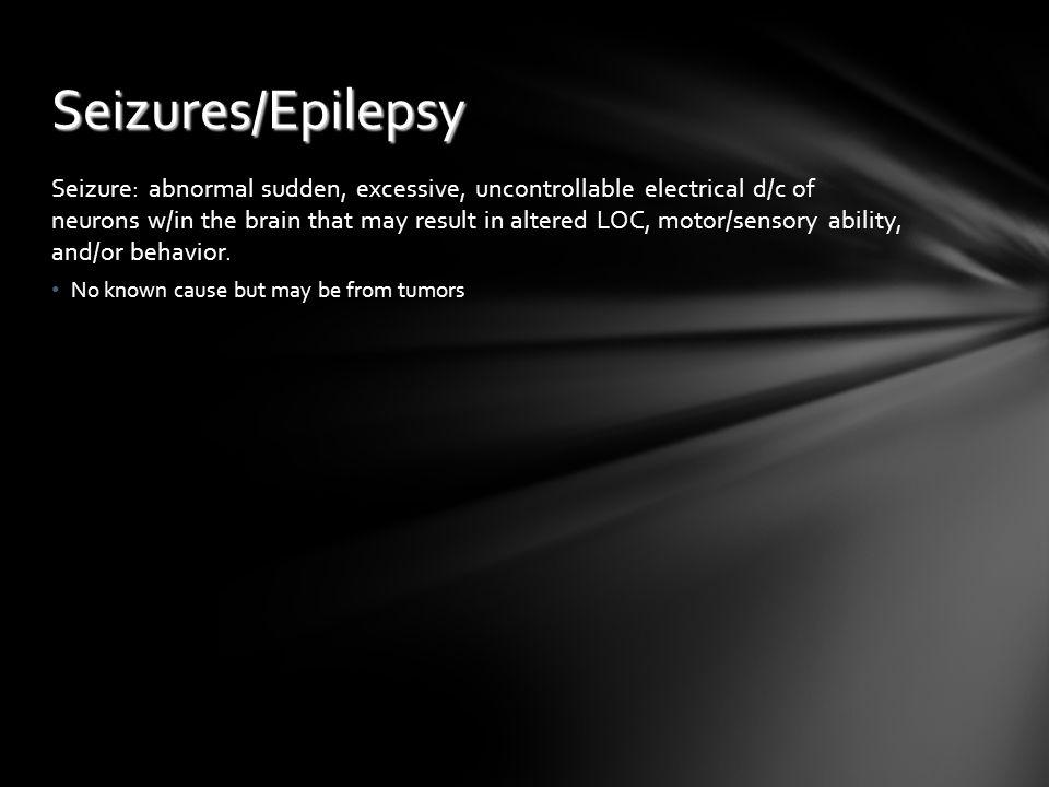 Seizures/Epilepsy