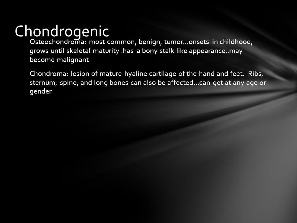 Chondrogenic