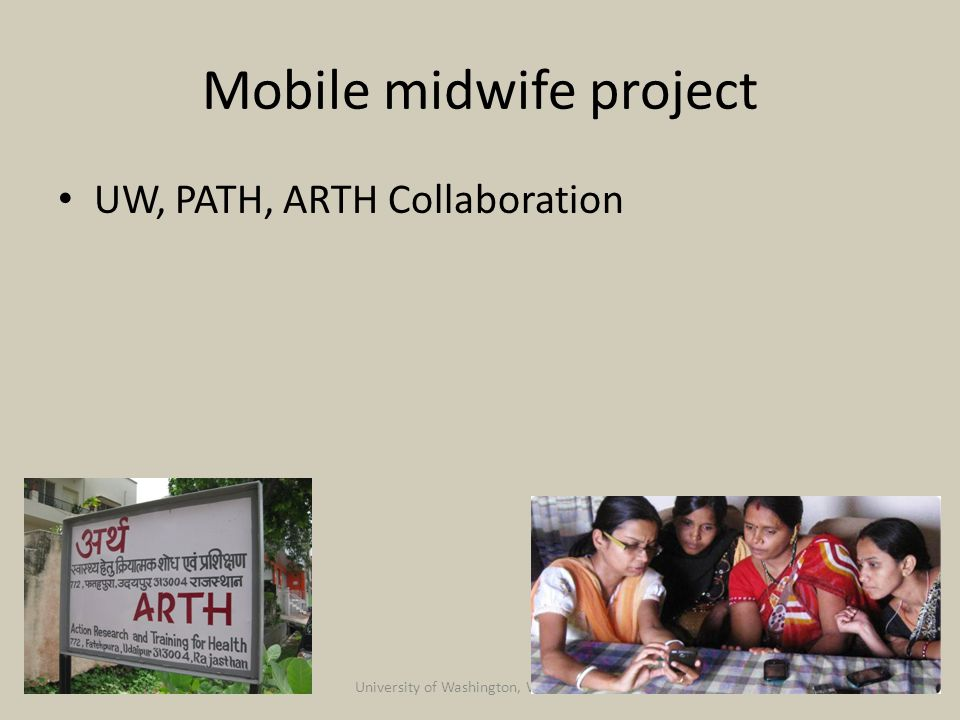 Mobile midwife project