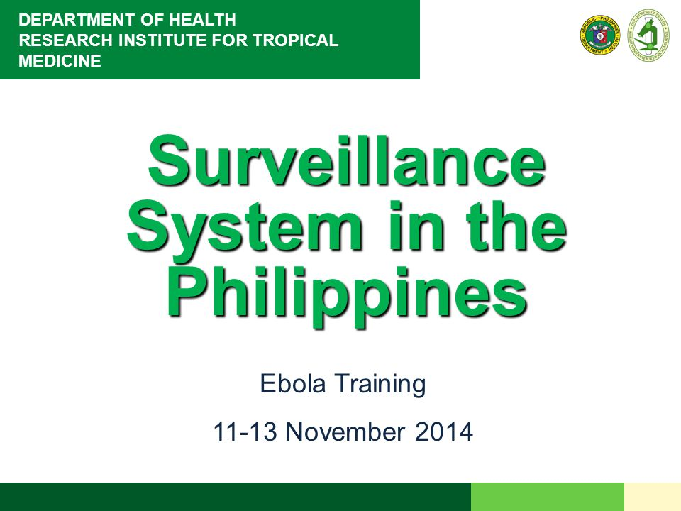 Surveillance System in the Philippines