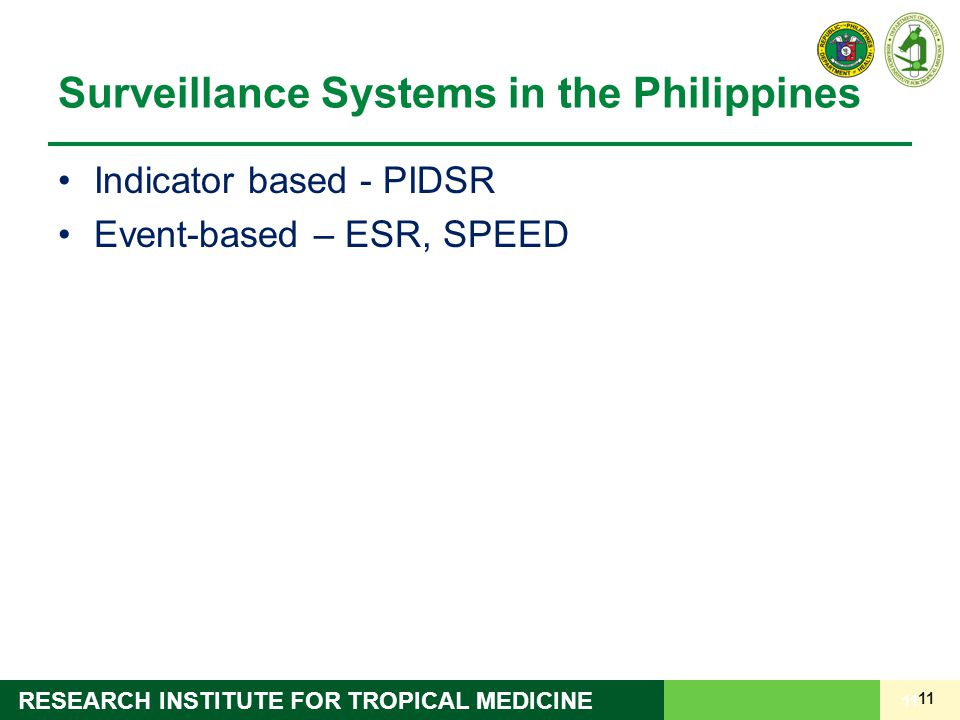 Surveillance Systems in the Philippines