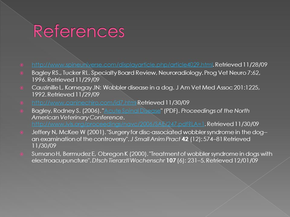 References http://www.spineuniverse.com/displayarticle.php/article4029.html. Retrieved 11/28/09.