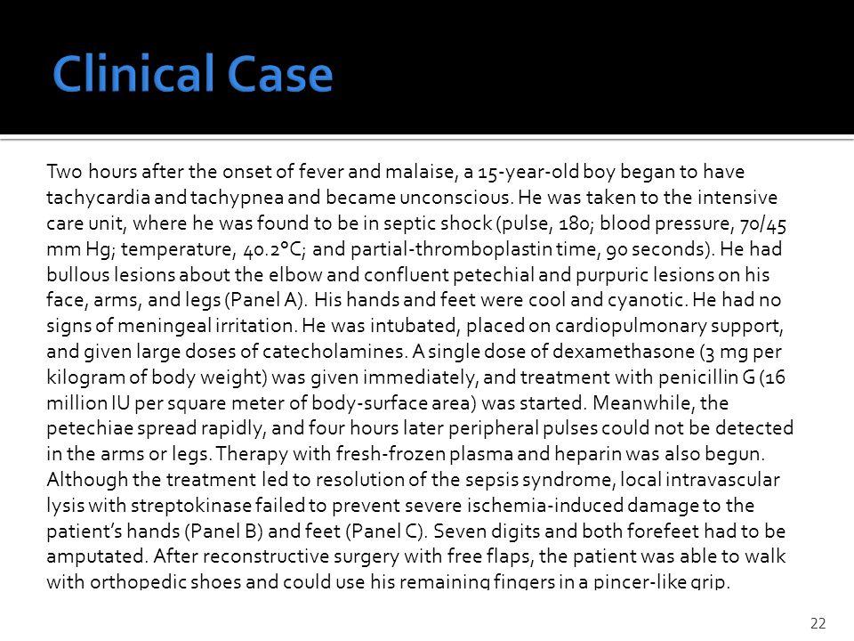 Clinical Case N Engl J Med, Vol. 344, No. 18 May 3, 2001;www.nejm.org
