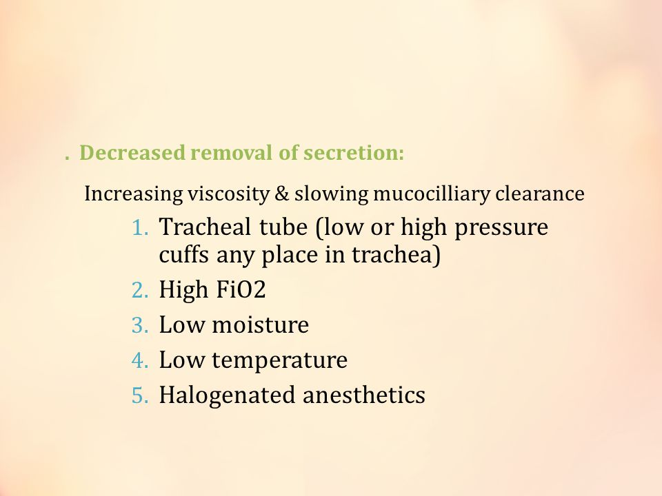 Tracheal tube (low or high pressure cuffs any place in trachea)