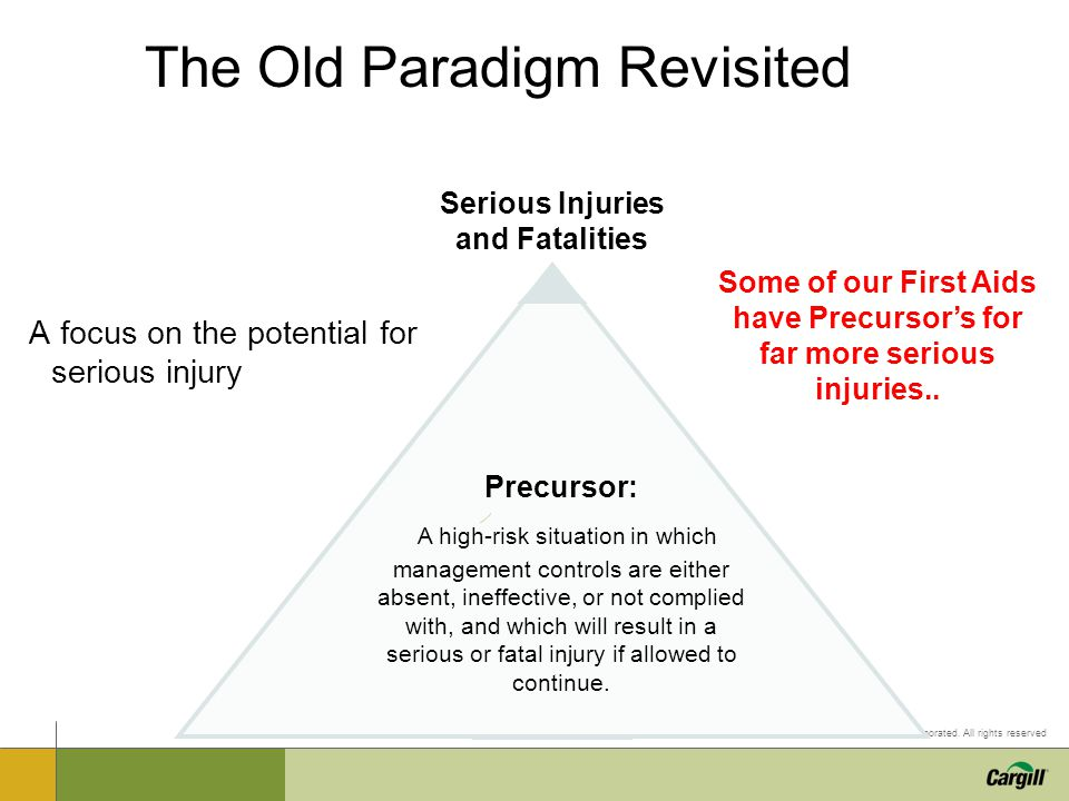 The Old Paradigm Revisited