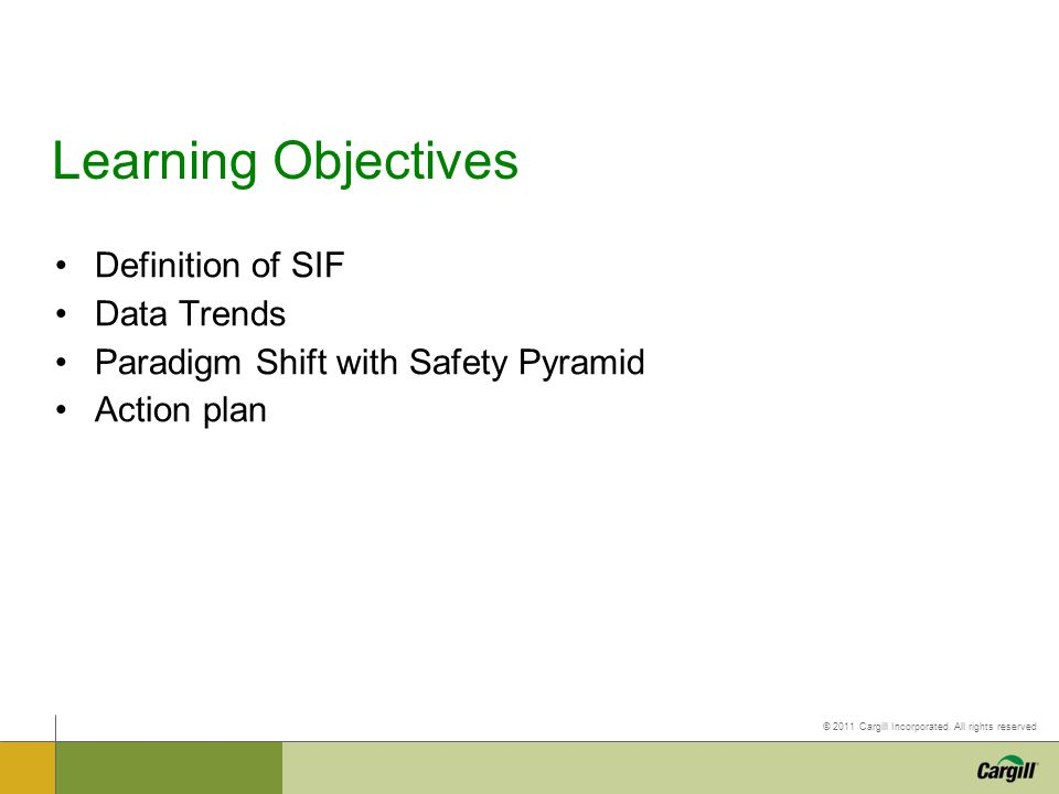 Learning Objectives Definition of SIF Data Trends
