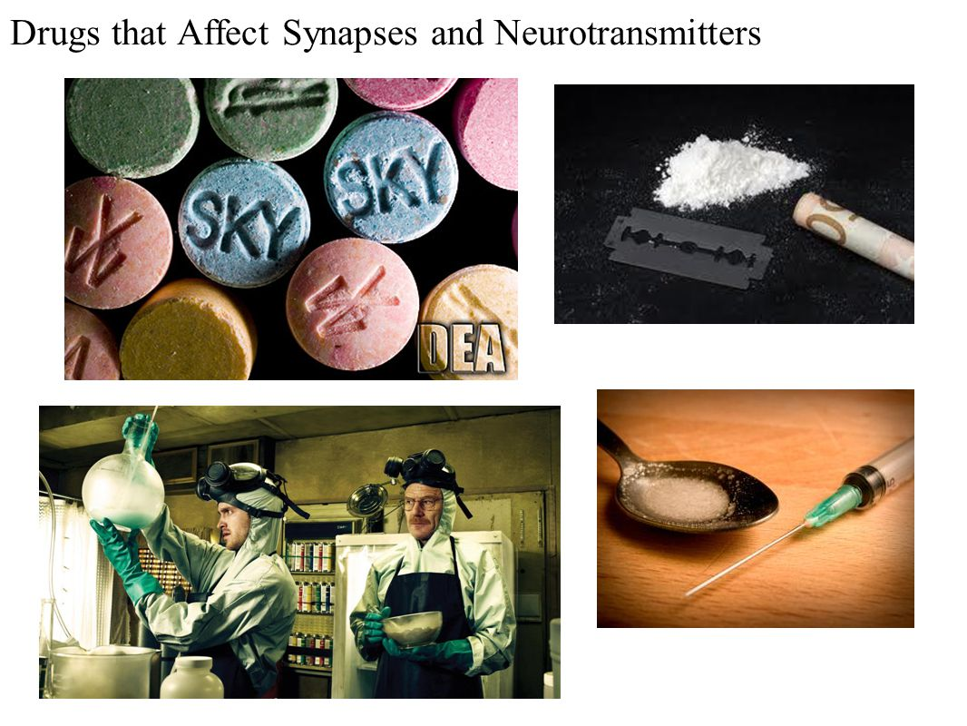 Drugs that Affect Synapses and Neurotransmitters