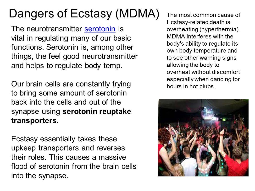 Dangers of Ecstasy (MDMA)