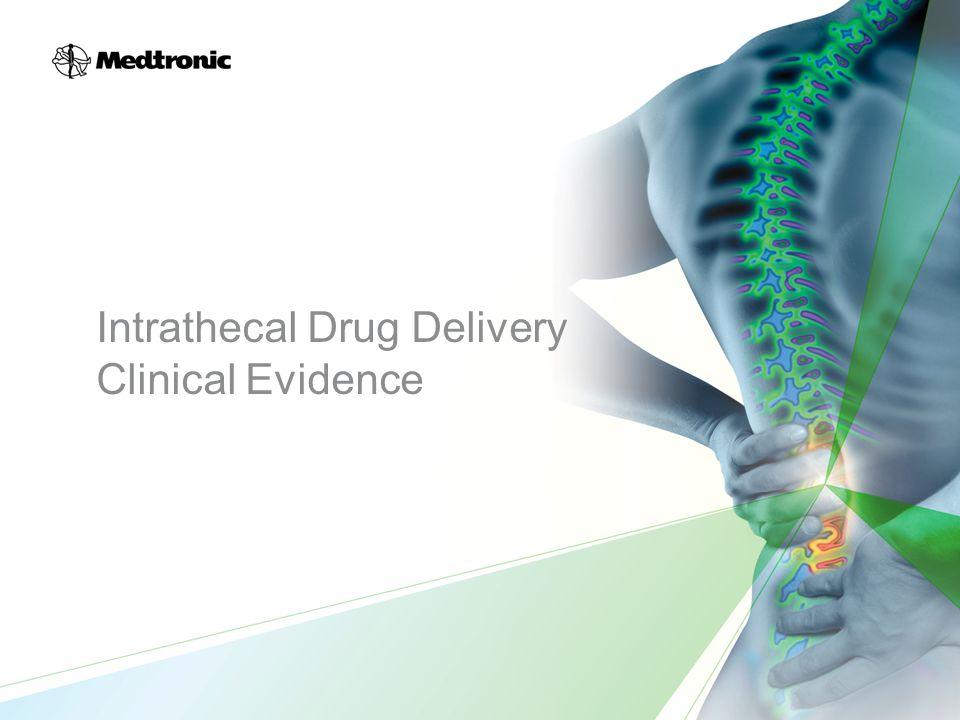 Intrathecal Drug Delivery Clinical Evidence