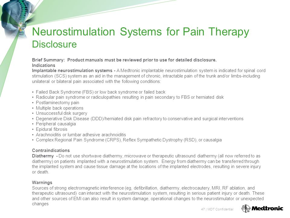 Neurostimulation Systems for Pain Therapy Disclosure