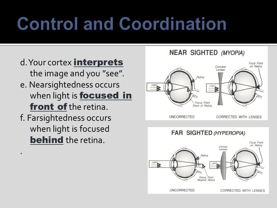 Control and Coordination