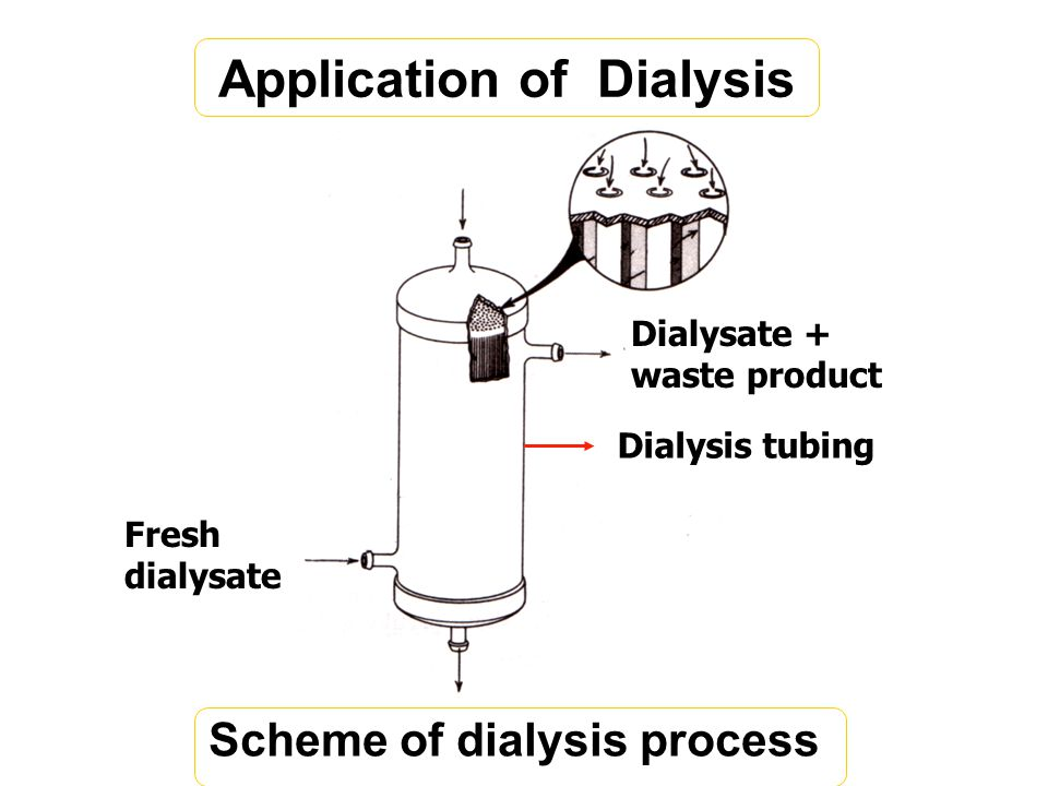 Application of Dialysis