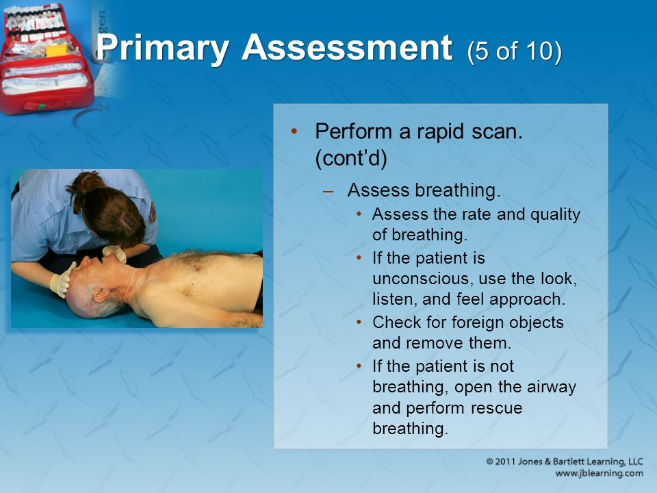 Primary Assessment (5 of 10)