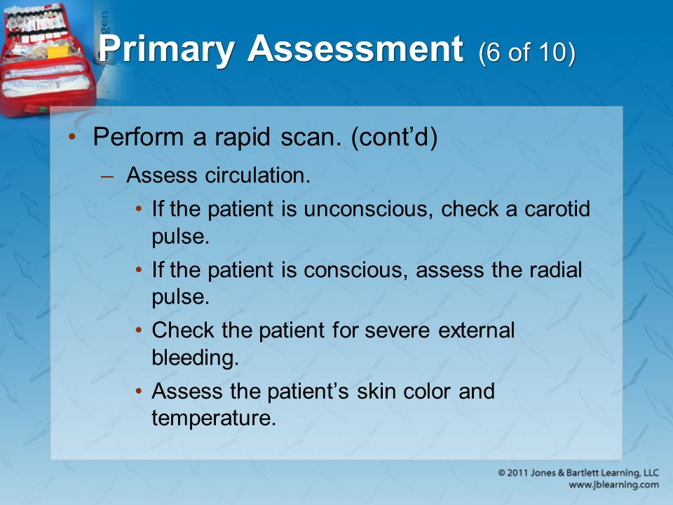 Primary Assessment (6 of 10)