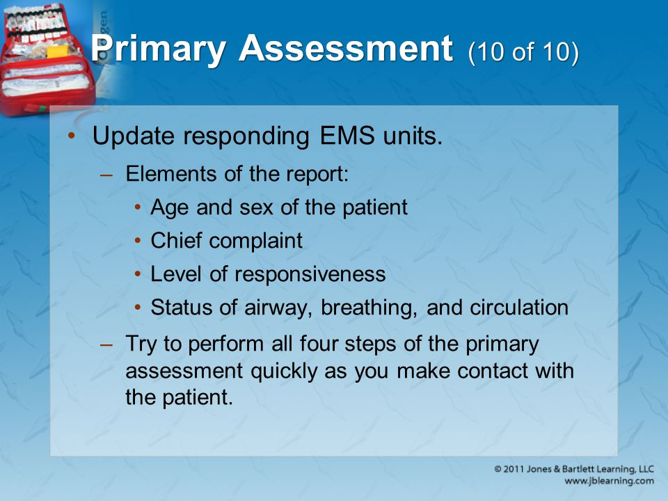 Primary Assessment (10 of 10)