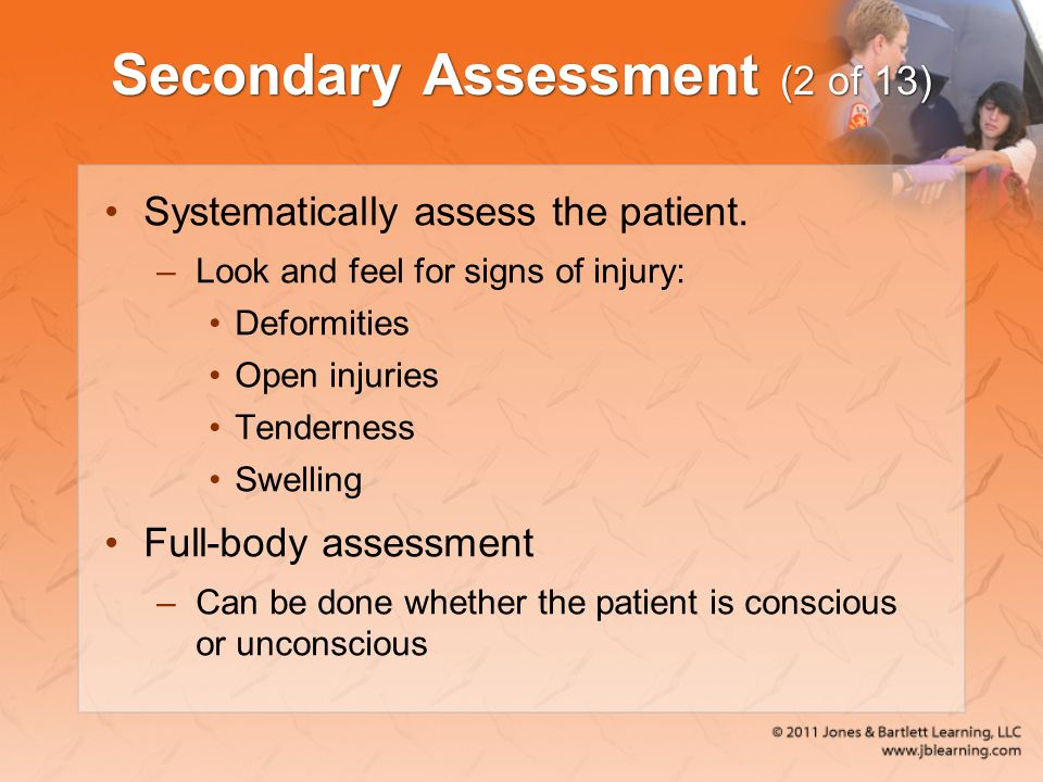 Secondary Assessment (2 of 13)