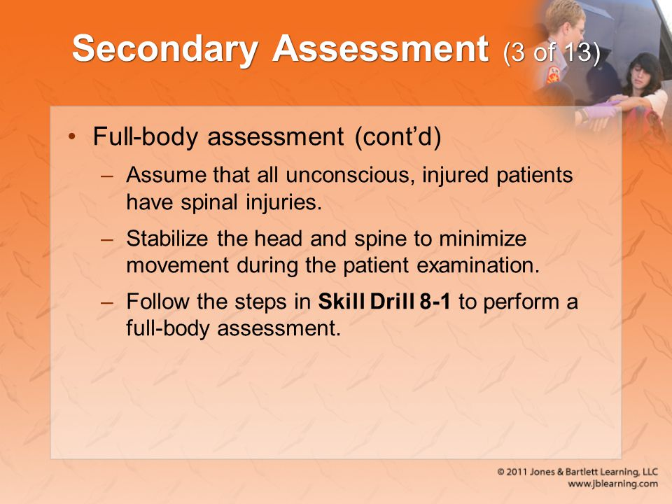 Secondary Assessment (3 of 13)