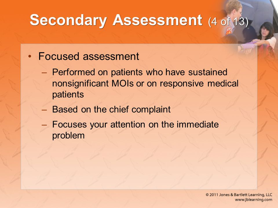 Secondary Assessment (4 of 13)
