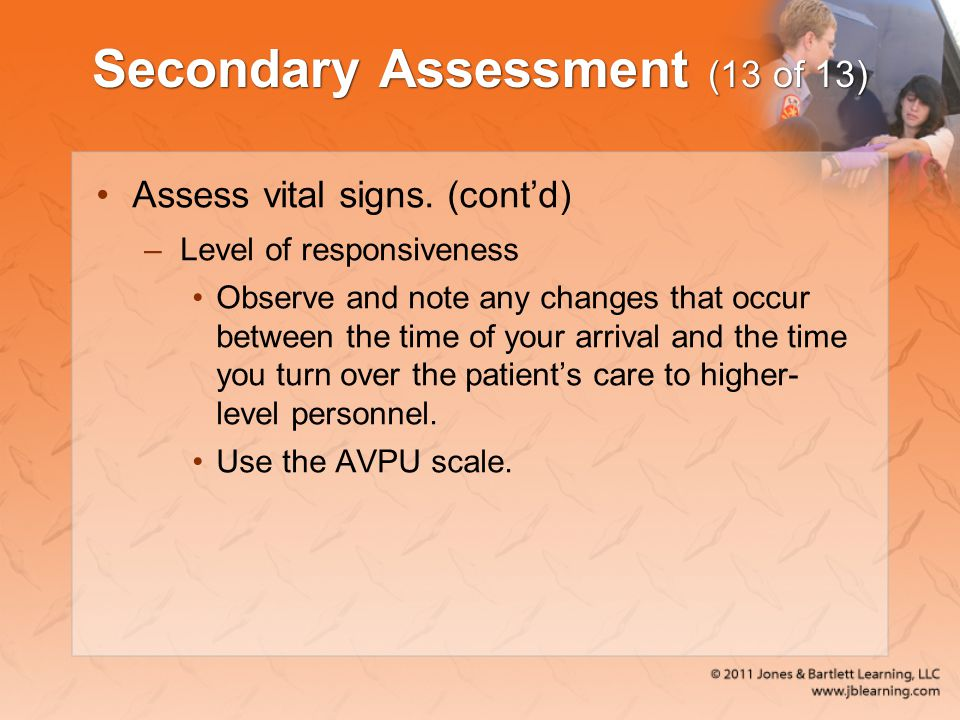 Secondary Assessment (13 of 13)