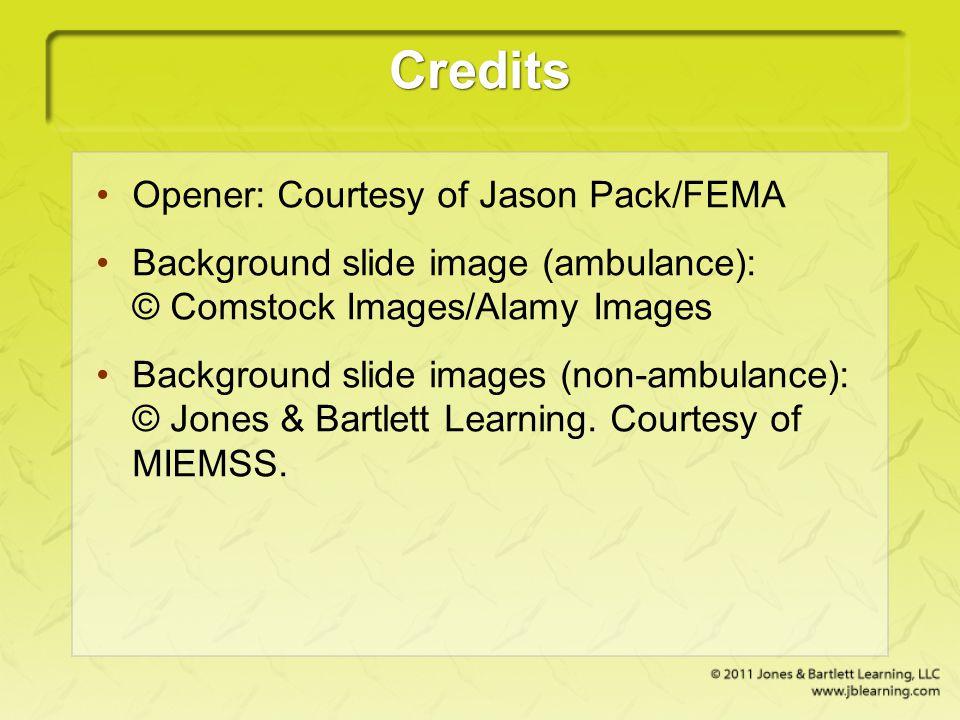 Credits Opener: Courtesy of Jason Pack/FEMA