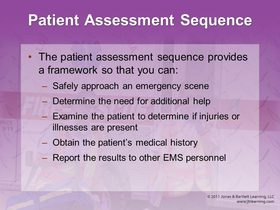 Patient Assessment Sequence