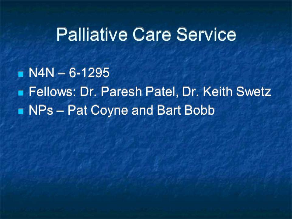 Palliative Care Service