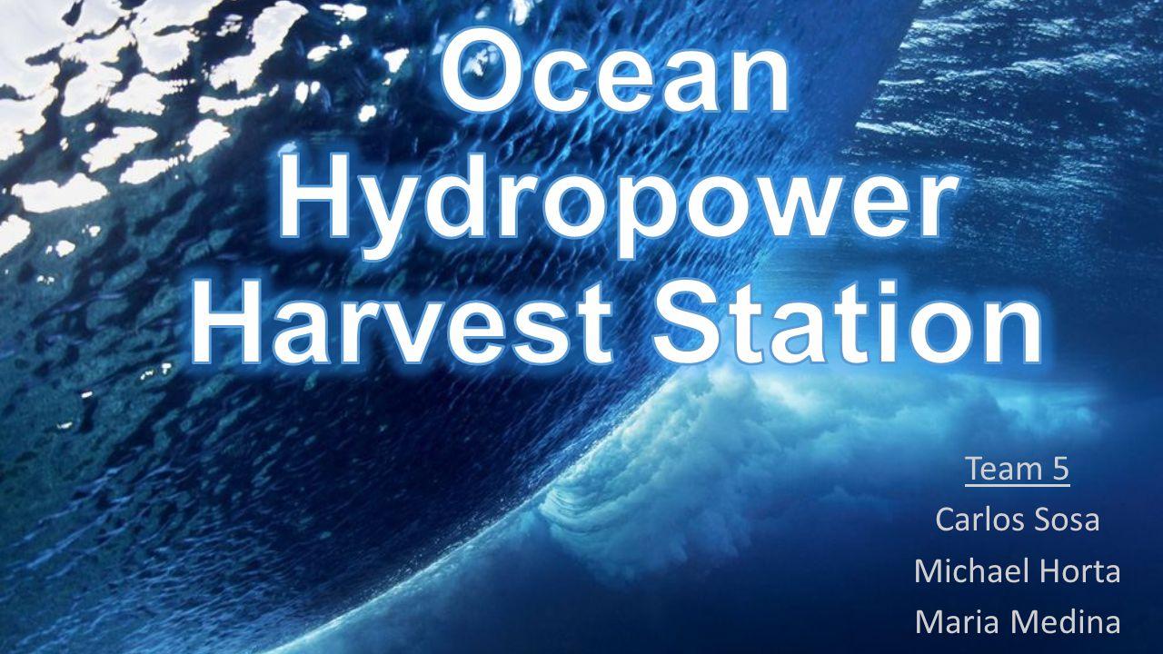 Ocean Hydropower Harvest Station