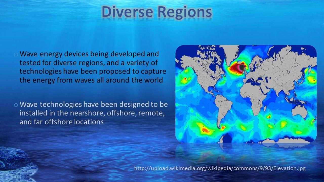 Diverse Regions