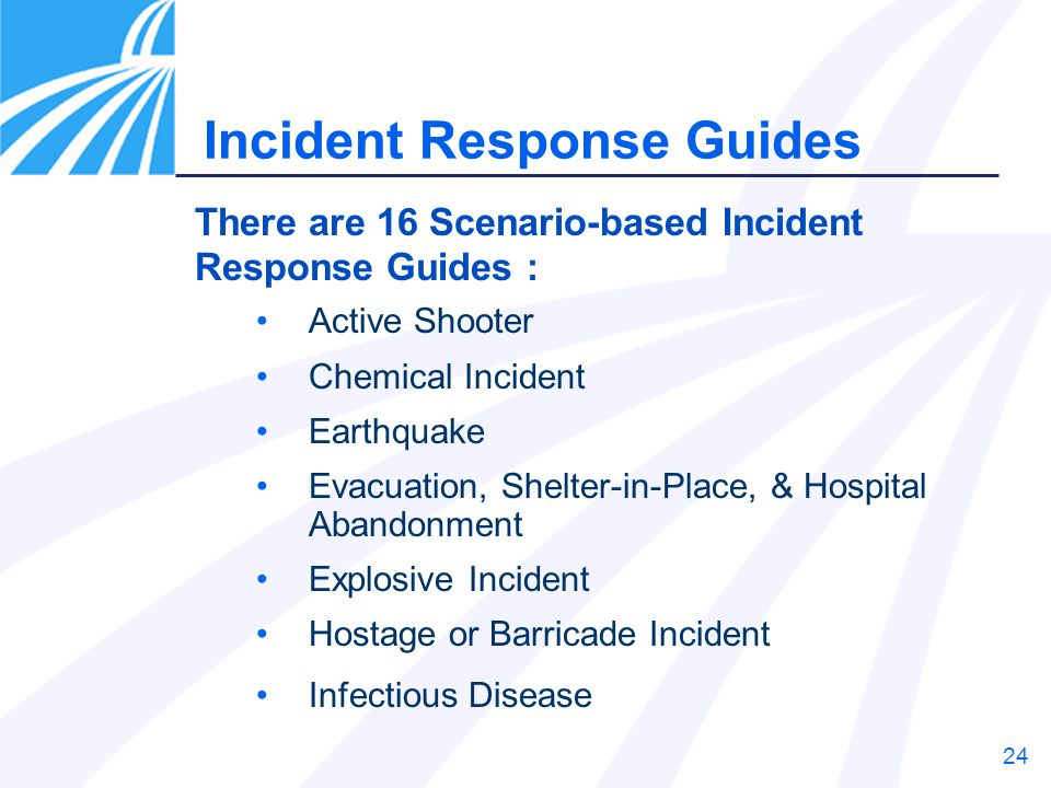 Incident Response Guides