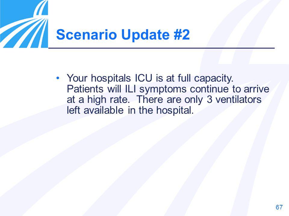 Scenario Update #2