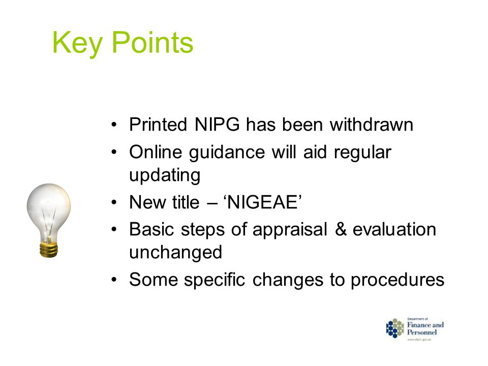 Key Points Printed NIPG has been withdrawn