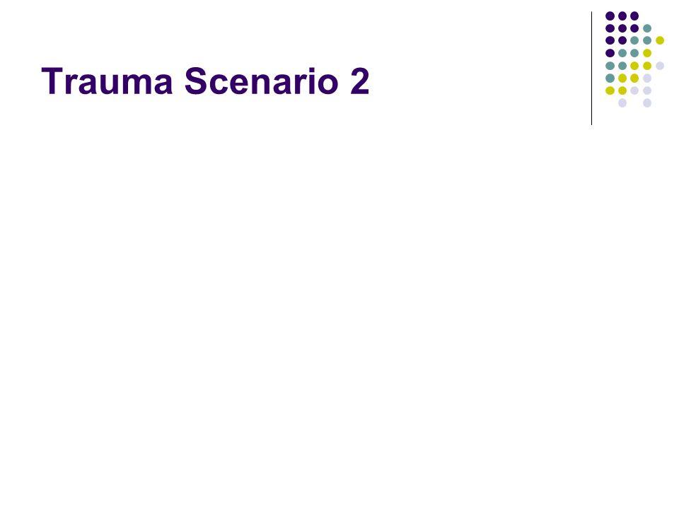 Trauma Scenario 2