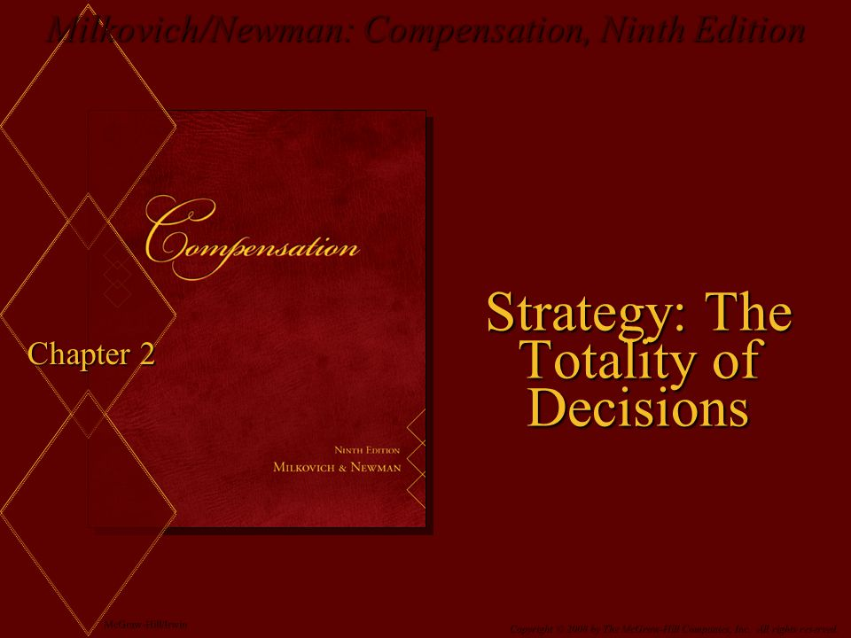 Strategy: The Totality of Decisions