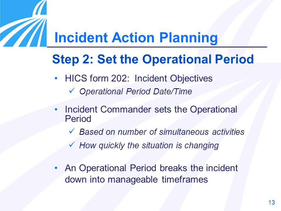 Incident Action Planning