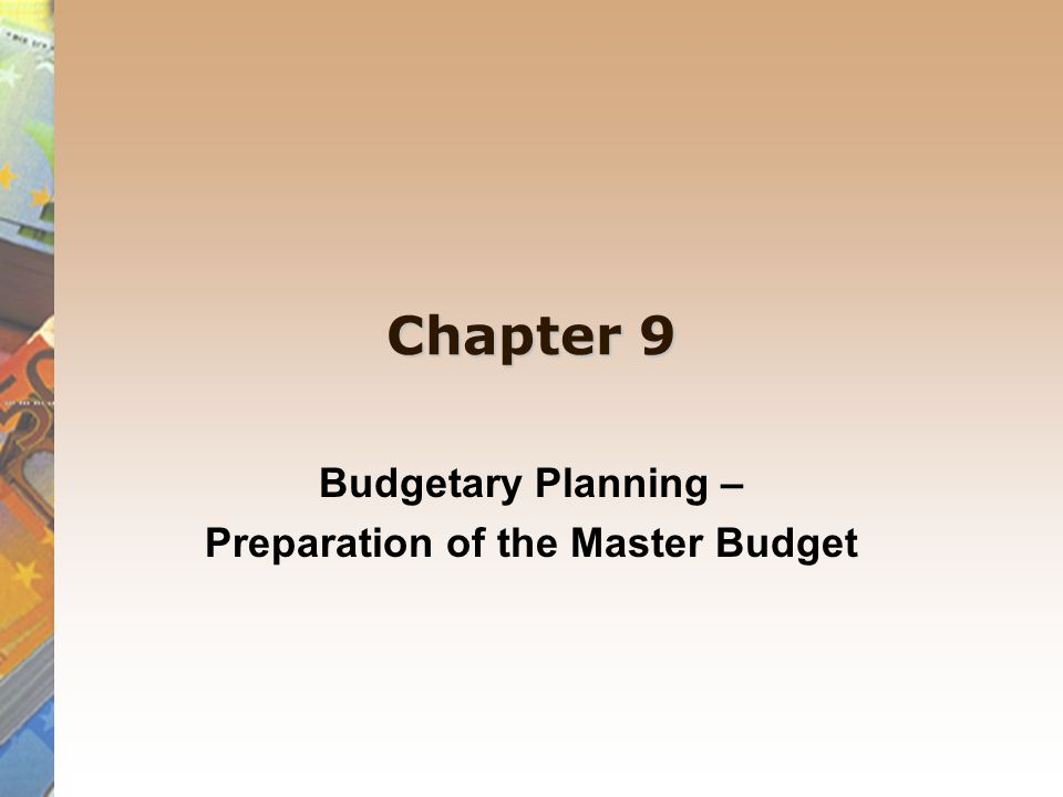 role from finance planning on business